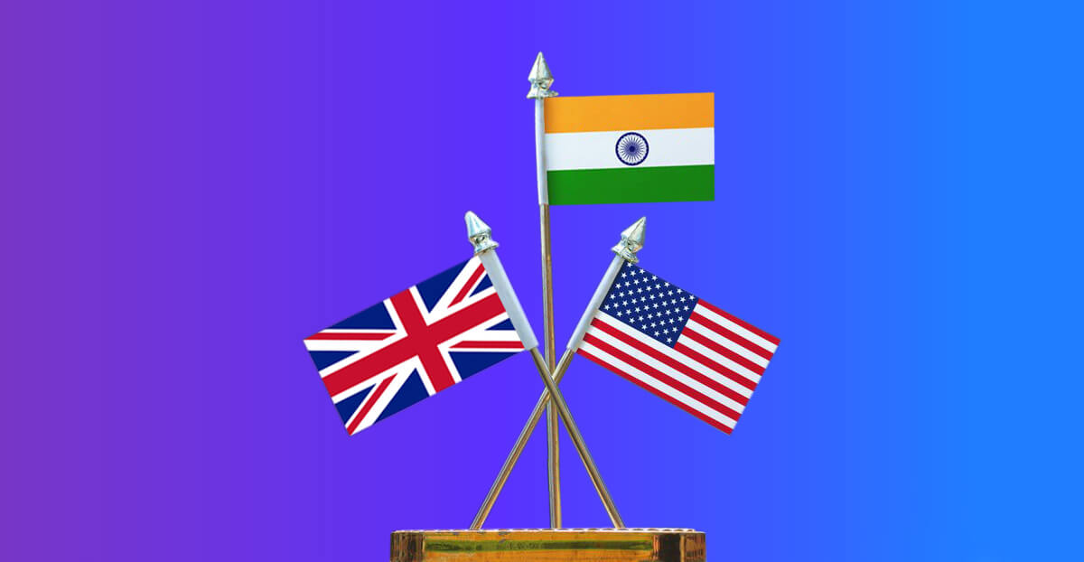 A comparative study of the Indian, UK and the US Constitution